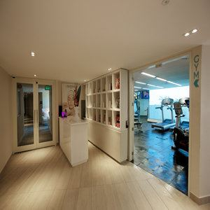 Fitness and Spa Lobby