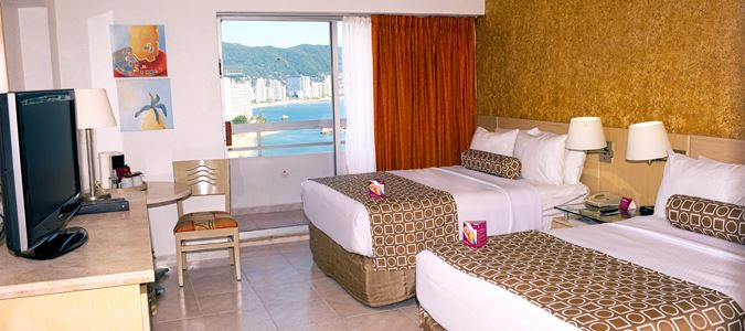 Deluxe Partial Oceanview Guestroom with Balcony