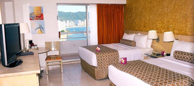 Deluxe Partial Oceanview Guestroom with Balcony