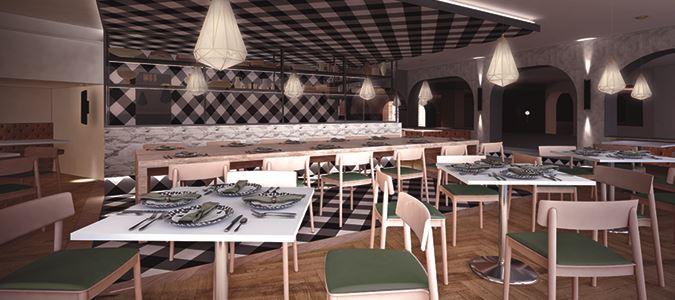 La Trattoria Restaurant Rendering