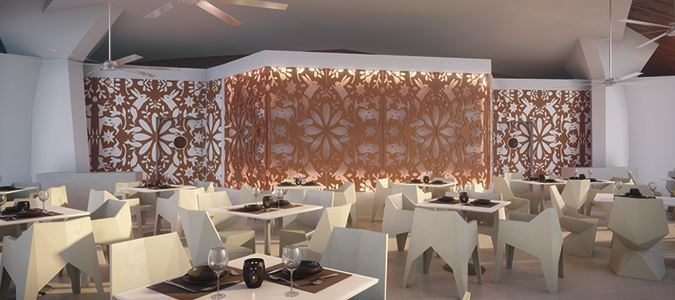 El Patio Restaurant Rendering