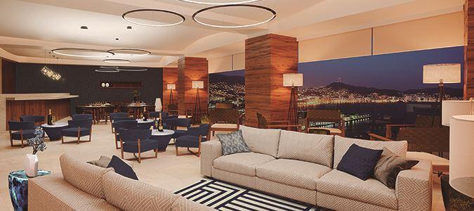 Preferred Club Lounge Rendering