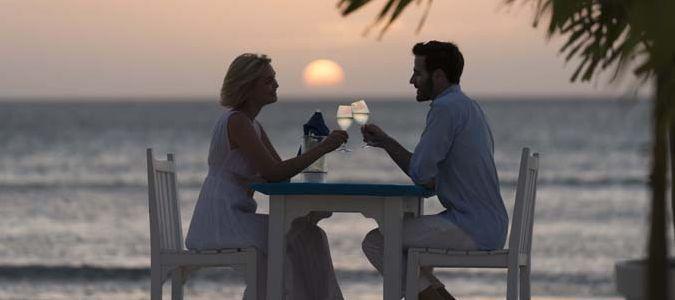 Romantic Dining on the Beach