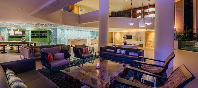 Marina Hotel Lobby