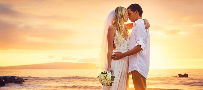 Romantic Beach Weddings