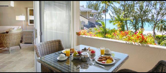 One Bedroom Penthouse Balcony
