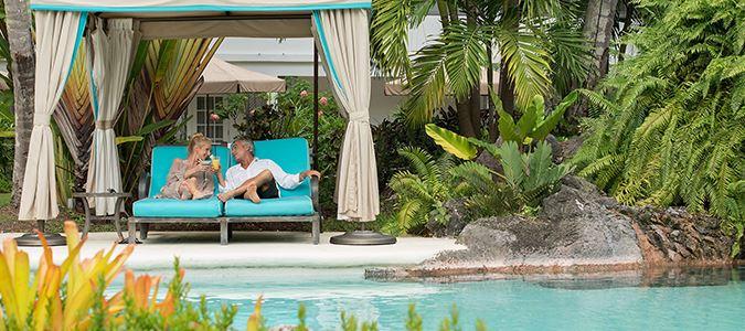 Poolside Cabana Loungers