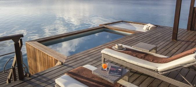 Sunset Pool Overwater Villa