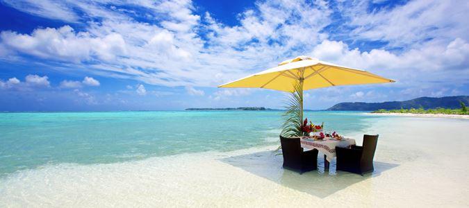 Private Dining on Motu Tapu Private Islet