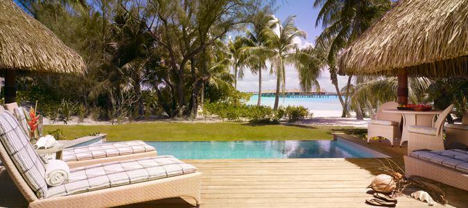 Two Bedroom Premier Moana Beachfront Villa with Pool