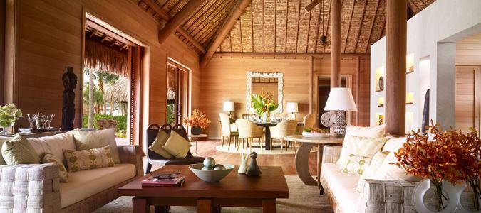 Three Bedroom Otemanu Luxury Beachfront Villa with Private Pool