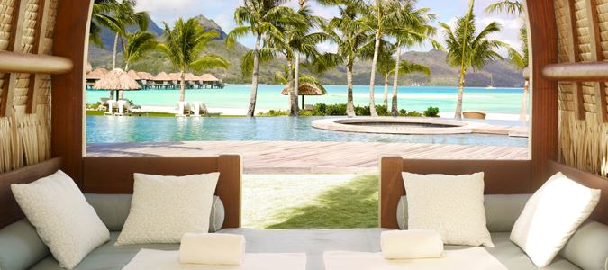 Infinity Pool and Cabana