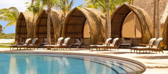 Infinity Pool and Cabanas