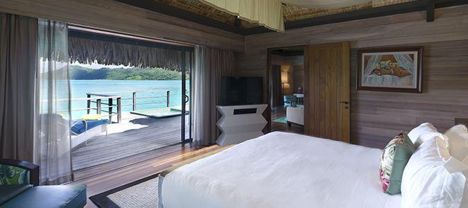 King Overwater Premier Suite Villa