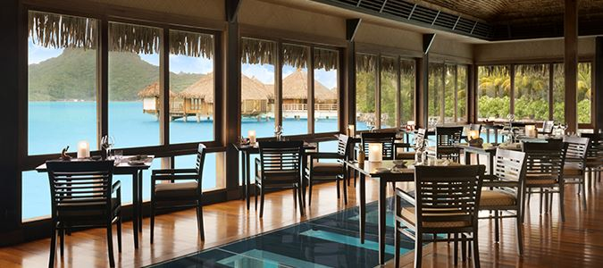 The Lagoon Restaurant by Jean-Georges