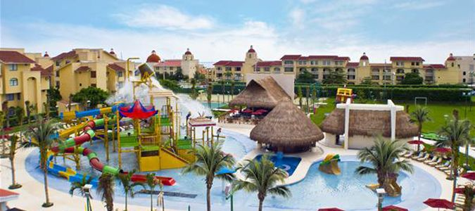 Exterior and Water Park