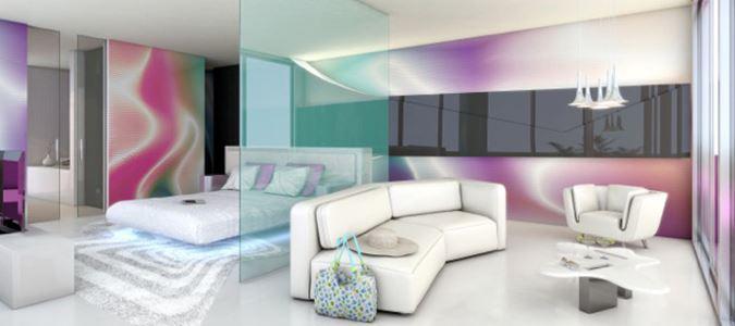 Oceanfront Master Suite Rendering