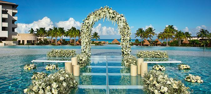 Presidential Suite Oceanfront Wedding Ceremony