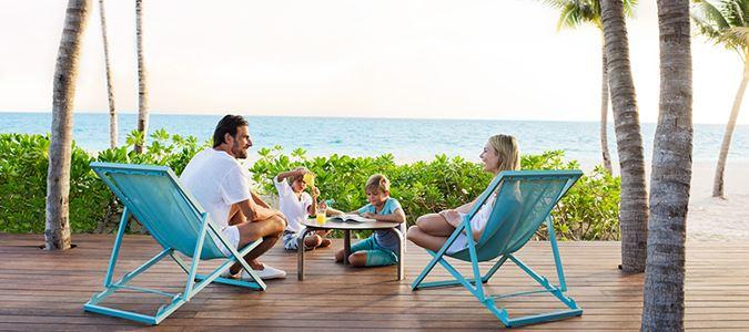 Las Dunas Beach House Deck