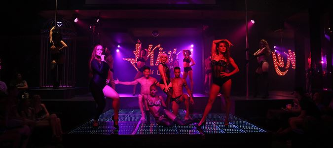 Kinky Night Club: Variety Shows