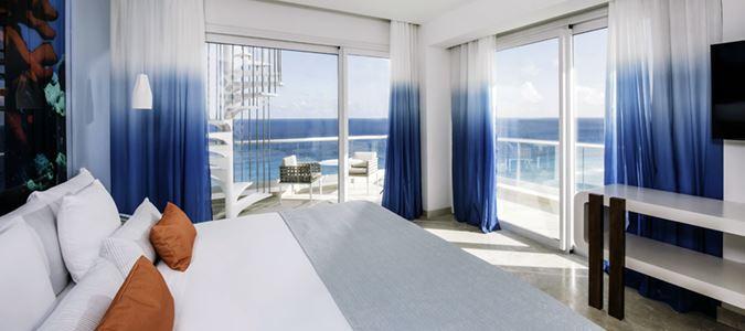 Junior Suite Oceanfront Corner Star Prestige