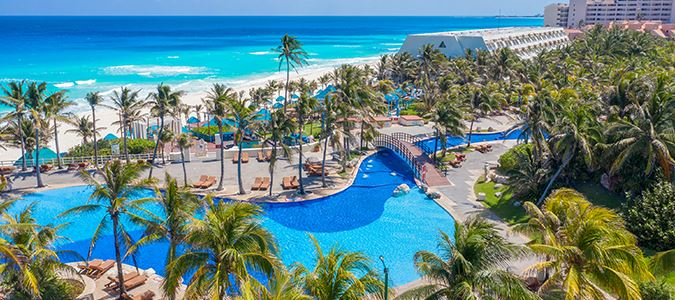 Longest Resort Beachfront in Cancun