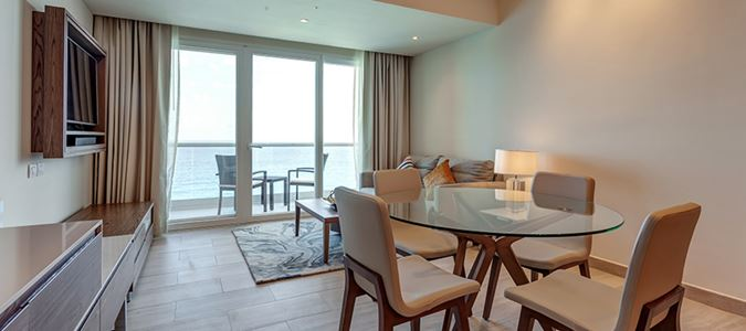 Luxury Presidential One Bedroom Suite Ocean View