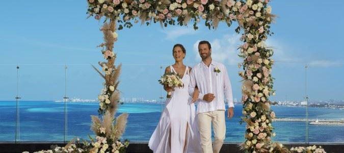 Preferred Club Terrace Wedding
