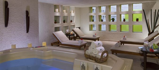 Heavenly Spa Women's Relaxation Area