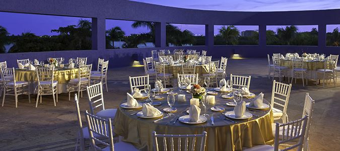 Lagoon Terrace Wedding Reception