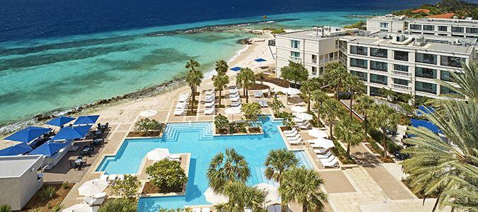 Oceanfront Guestroom Rendering