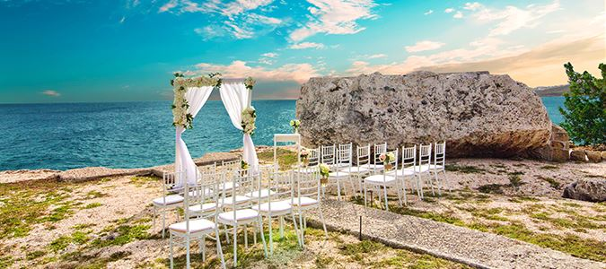 Sunset Rock Wedding
