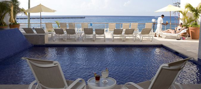 Pool Deck with Sea View