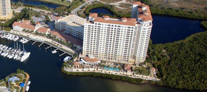 Aerial of Resort and Marina