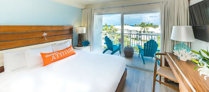 King Partial Oceanview Guestroom
