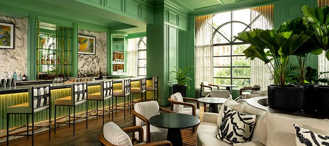 Silver Palm Lounge Afternoon Tea