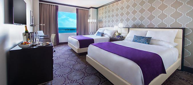 Deluxe Two Queen Gulfview Guestroom