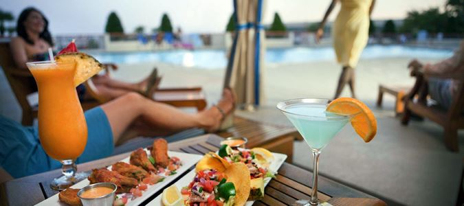 Poolside Cocktail Service