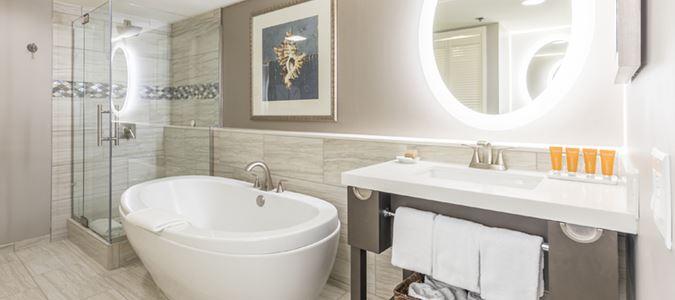 Premium Oceanfront Residence Master Bath