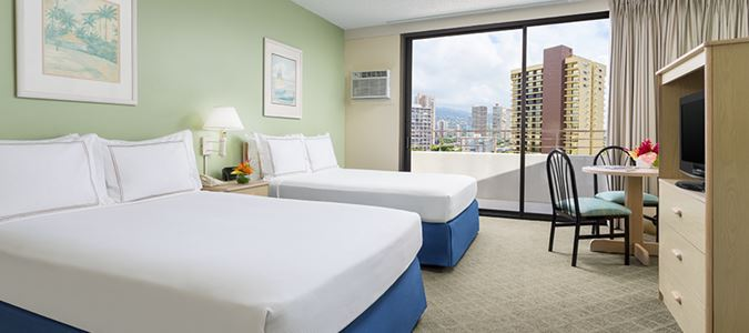 City View Hotel Guestroom