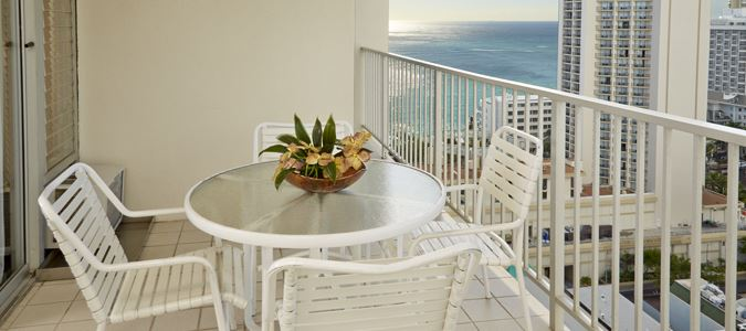 One Bedroom Partial Oceanview with Kitchenette