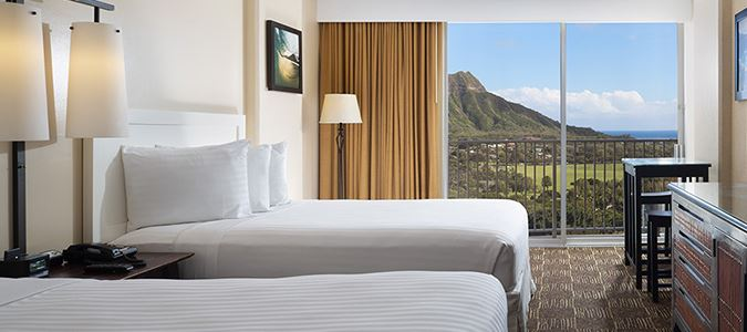 Diamond Head Oceanview Guestroom