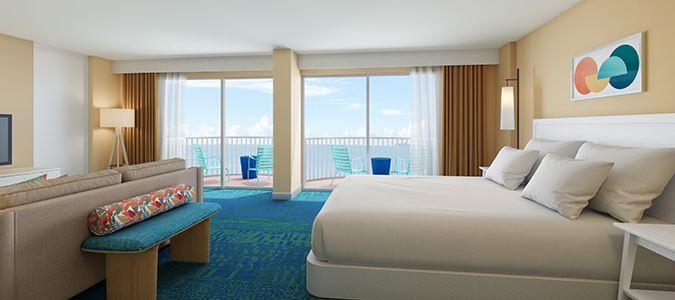Diamond Head Oceanview Guestroom