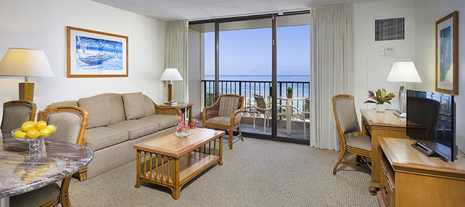 One Bedroom Oceanview Suite