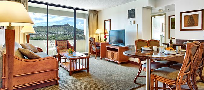 Two Bedroom Diamond Head View Suite