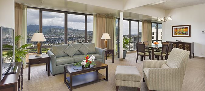 Penthouse Mountainview Suite