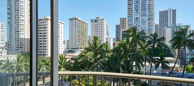 Waikiki View Guestroom