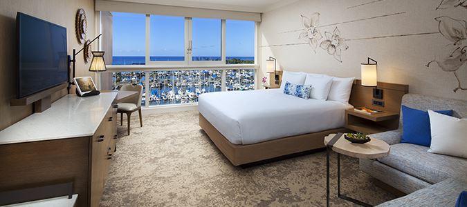 Oceanfront Harbor Guestroom