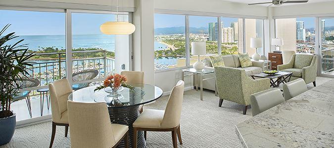 Luxury Two Bedroom Oceanview Suite