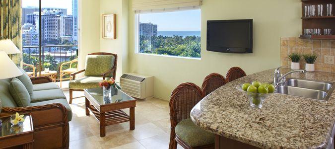 One Bedroom Oceanview with Kitchen